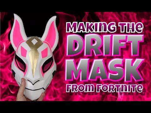 Making the Drift Mask from Fortnite