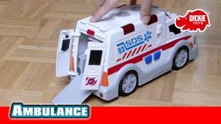 Dickie Toys Mentő Autó
