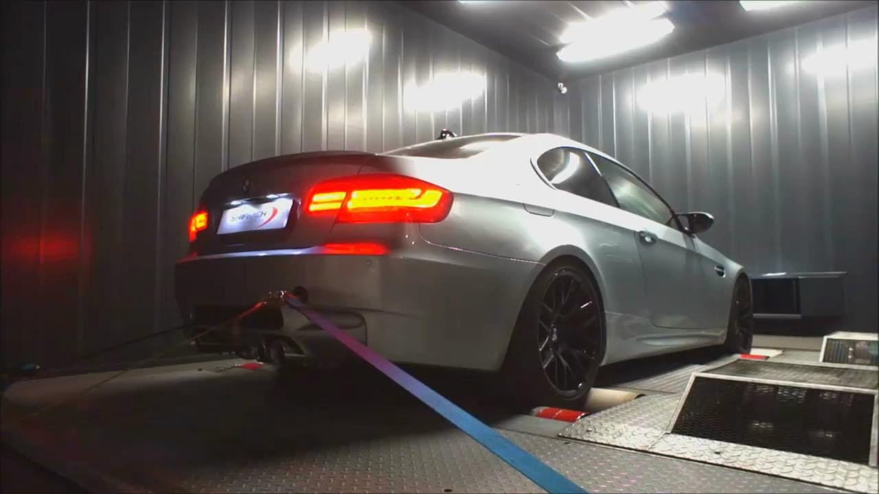 Bmw M3 E92 4 0 V8 W Armytrix Axel Back Valvetronic Exhaust On Dyno