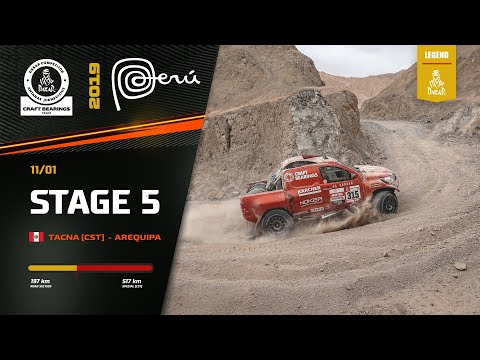 Dakar Rally 2019. Antanas Juknevicius Marathon Stage 5 Highlights