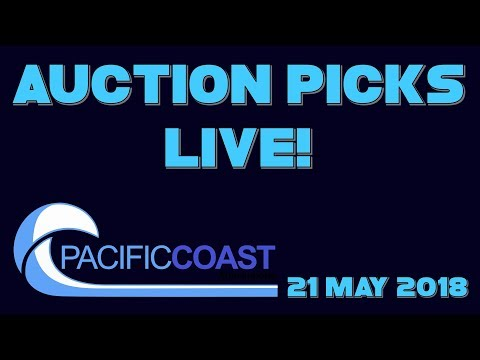 Japan Auction Picks Live! - 21 May 2018