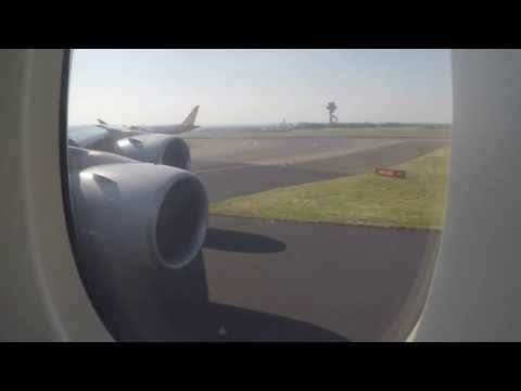 Take Off - Singapore Airlines Airbus A380 departing SYD