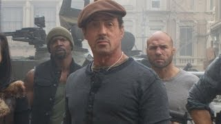 Sylvester Stallone Talks 'The Expendables 3'