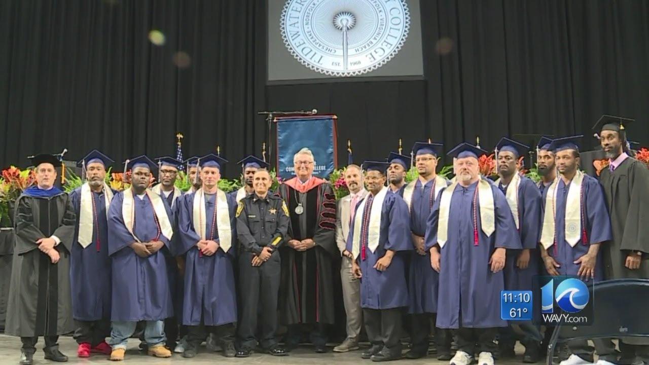 NORFOLK VIRGINIA-Inmates Grads