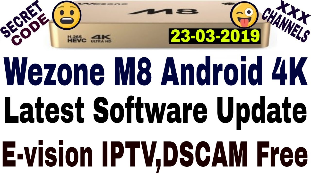 Wezone M8 Latest Software,M8 New Software,E-vision iptv