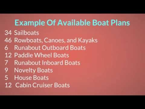 Wooden Boat Plans Online For Row Boats, Sailing Boats, Fishing Boats, Kayaks & Duck Boats You Can Bu