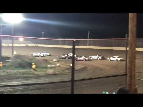 Kankakee County Speedway UMP Factory Stock Heat 3 Sept. 21 2018