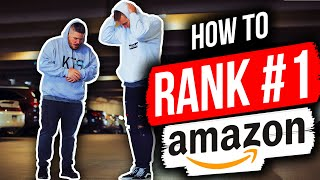 How to Rank on Amazon - Brand New PPC Strategies to be RANKED #1!