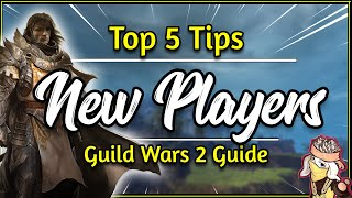 Guild Wars 2 - 5 NEW PLAYER TIPS 2018 [Short GW2 Beginner Guide]