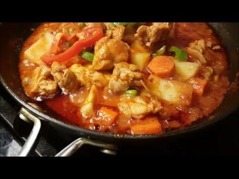 How To Make Chicken Afritada - Filipino Food