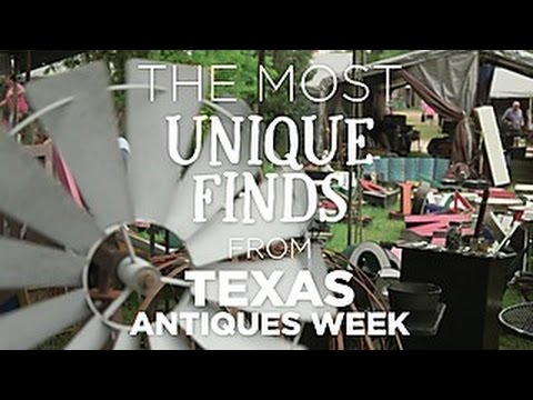 Unique Finds From Texas Antiques Week - HGTV