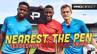 YUNG FILLY ft. RYAN SESSEGNON & OLIVER SKIPP | NEAREST THE PEN CHALLENGE