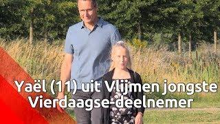 Nijmeegse Vierdaagse: elfjarige Yaël is jongste deelnemer
