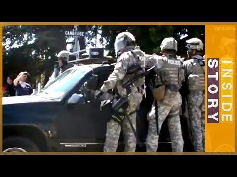 Inside Story Americas - Have US police forces become too militarised?