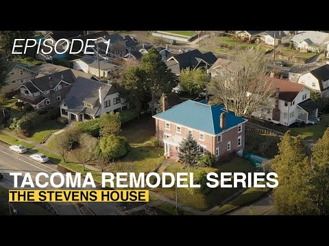 Anne Curry Homes | TACOMA REMODEL SERIES | HGTV Style | THE STEVENS HOUSE // EPISODE ONE