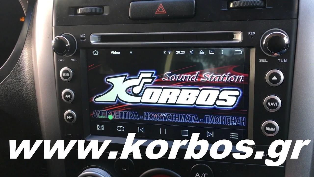 LM T053 GPS για Suzuki Grand Vitara/Vitara www.korbos.gr