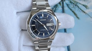 Обзор Citizen mechanical NP4080-50L Day-Date