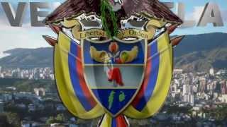VENEZUELA LOGO 3D ESCUDO CARACAS VENEZUELA