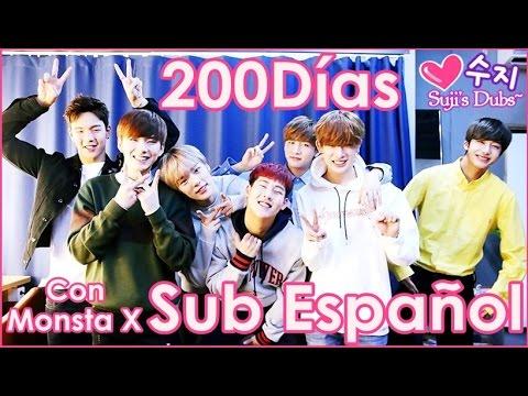 ►Suji's Dubs「151129 MONSTA X @ 200 días」[Sub Español]