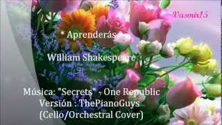 "Con el Tiempo Aprenderás - William Shakespeare - The Piano Guys ""Beethoven´s 5 Secrets"""