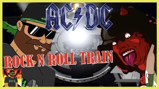 Cartoon-Angus!!! | AC/DC - Rock N Roll Train