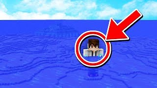 Can you SURVIVE if the ENTIRE WORLD is an OCEAN? (Minecraft 1.13 Challenge)
