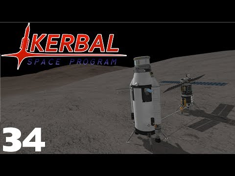 Road To Colonisation #34 - Bop Mining Operations - Kerbal Space Program