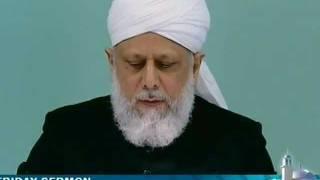 Le Califat en Islam : deuxième manifestation de la grâce divine  - sermon du 27 05 2011