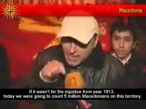 Macedonians gathered to protect their name in Skopje, the capital of Macedonia!