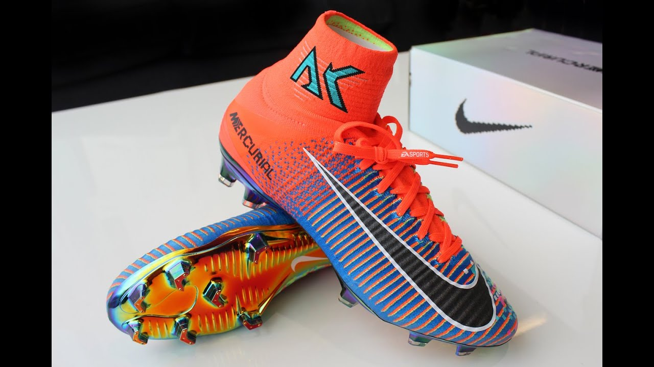 wholesale dealer cb68d aefe8 AK GoPro: Unboxing Nike Mercurial Superfly x EA Sports