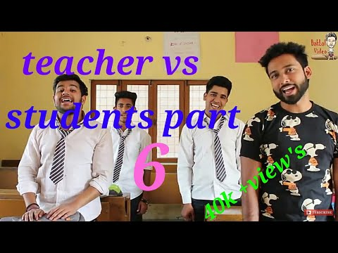 Teacher vs student part 6