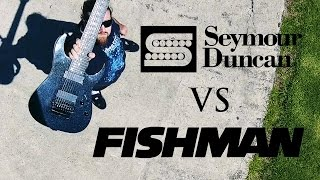Pickup shootout between the Seymour Duncan Nazgul/Sentient Combo & ...