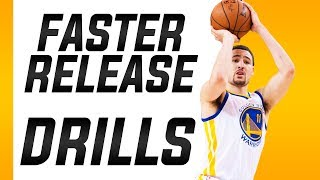 3 Simple Drills To Get A Faster Shot: Basketball Shooting Drills