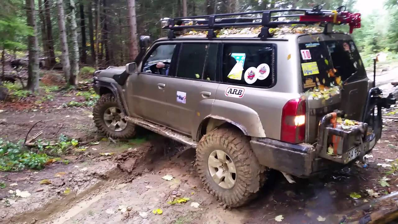 Maxxis Trepador 37 Nissan Patrol Y61 Kordon Youtube