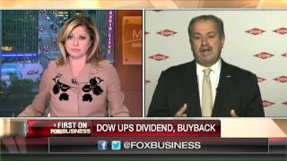 Dow Chemical CEO: We'll fund growth organically, no need for M&A