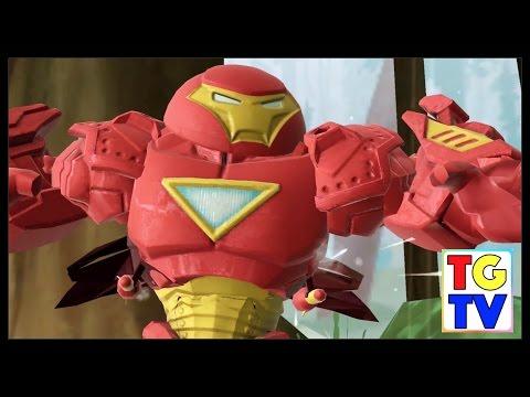 Marvel Super Hero Mashers Hulk Buster | Mix + Smash