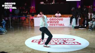 GROOVE'N'MOVE BATTLE 2017 - Tutting Semi-Final / Celso VS Lil Puma