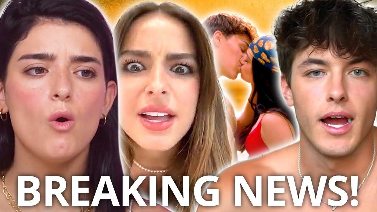 TIK TOK DRAMA! Addison Rae, Dixie D'Amelio & Noah Beck KISS, Griffin Johnson responds, & MORE!