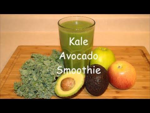 Kale Avocado Smoothie / Green Smoothie