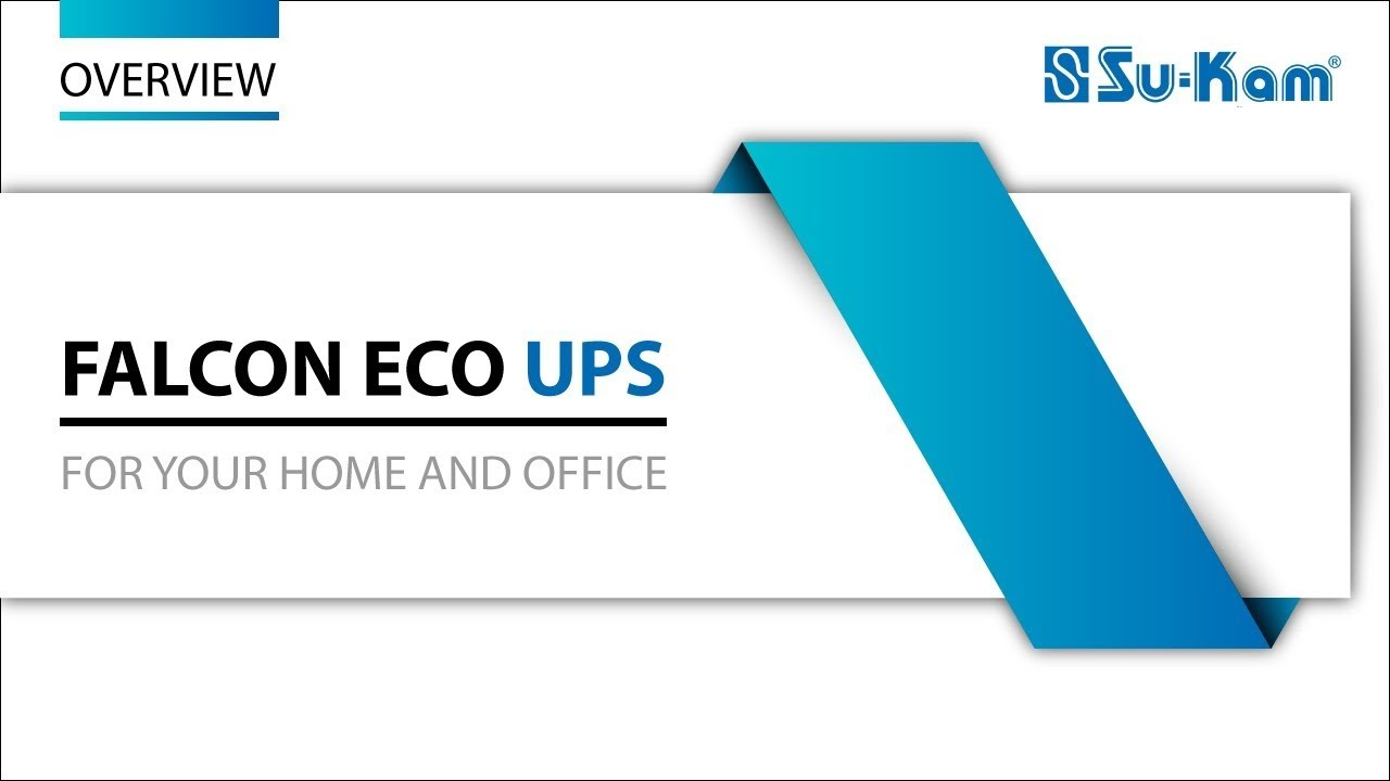 Falcon Eco Ups For Home And Office