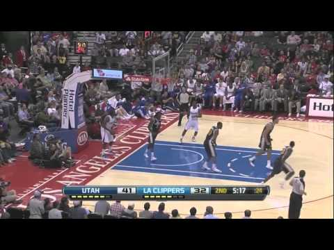 Jeremy Evans Monster Block and Dunk