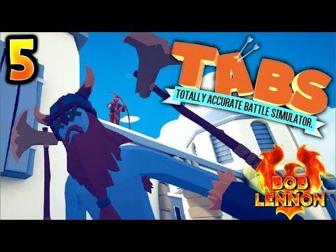 ZBAM !! FLÈCHE DANS LA NUQUE !!! -Totally Accurate Battle Simulator- avec Bob Lennon