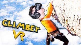РУФЕРЫ НЕУДАЧНИКИ ВЗЯЛИСЬ ЗА СТАРОЕ В ВИРТУАЛЬНОЙ РЕАЛЬНОСТИ (HTC Vive) Climbey