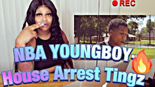 NBA YoungBoy - House Arrest Tingz REACTION