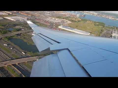 Lufthansa 747-400 Takeoff from Newark EWR to Frankfurt FRA