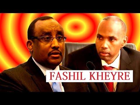 Cabdiwali Cali Gaas Oo Weeraray Raisul wasaaraha Somalia Xasan Cali Kheyre