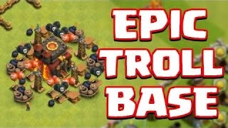 Clash of Clans Best Town Hall 7 Farming/Trolling Base
