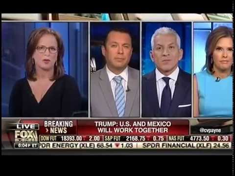 Hector Sanchez of LCLAA/NHLA on FoxBusiness discusses Trump's Immigration Plan and Impact on Latinos