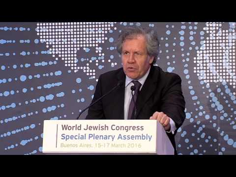 WJC Plenary Assembly in Buenos Aires: address by Luis Almagro