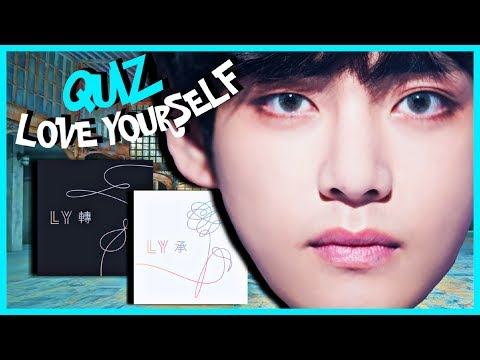 BTS GAME | Test Your Love Yourself Knowledge